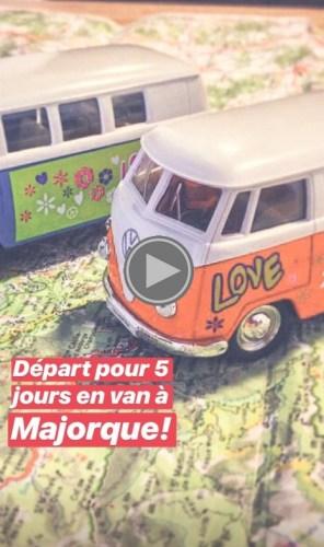 Story Instagram Majorque - Voyageurs Sans Frontières