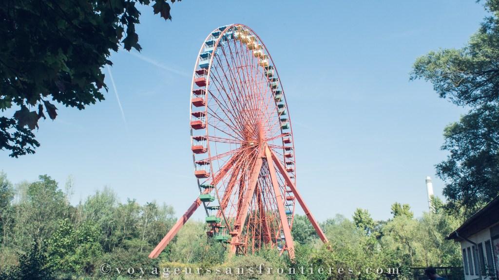 Grande roue de Spreepark - Berlin, Allemagne