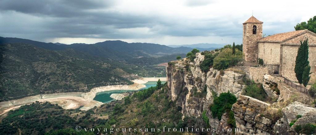 Vue sur les montagnes depuis Siurana - Catalogne, Espagne