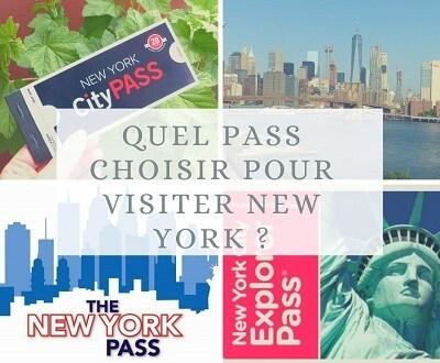 Quel pass choisir pour visiter New York ?