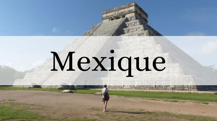 Voyager en Amérique : vue sur Chichén Itzá, l'un des lieux les plus touristique du Yucatán.
