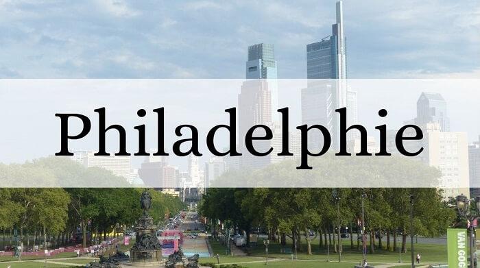 Voyager en Amérique : vue sur la ville de Philadelphie pour présenter la catégorie d'articles sur Philly.