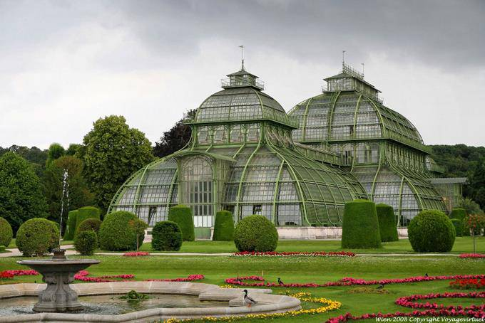 Schnbrunn Palmenhaus Vienna Austria