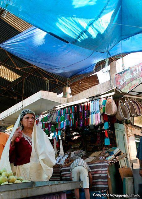 Sfax A Woman At The Market Tunisia