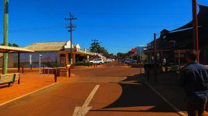 Uno de los pueblitos del outback en el Western Australia