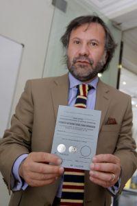 Licencia de conducir obtenido por el Automovil club de Chile