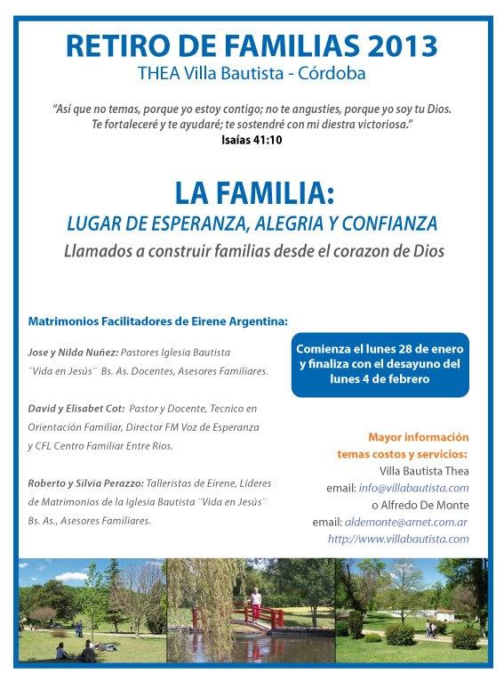 Invitacion a los amigos de Voz de Esperanza y CFL Centro Familiar Litoral