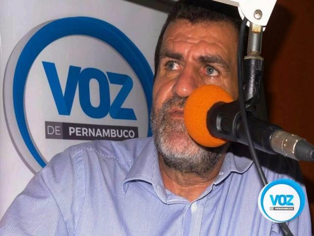 Pereira será entrevistado do programa Francisco Júnior e Voz de Pernambuco nesta sexta (15)