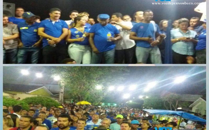 Botafogo realizou comício no Bairro senzala em Carpina na noite desta terça (20)