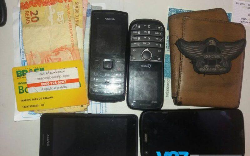 ROCAM recupera produtos de roubo em Carpina