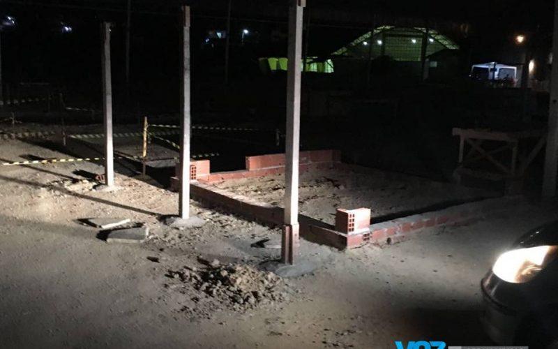 Justiça determina suspensão de obras no Pátio da Feira em Lagoa do Carro