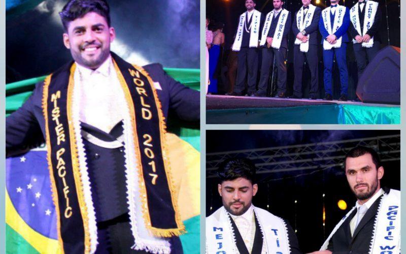 Carpinense arrebenta na passarela e vence concurso Internacional de Mister Modelo