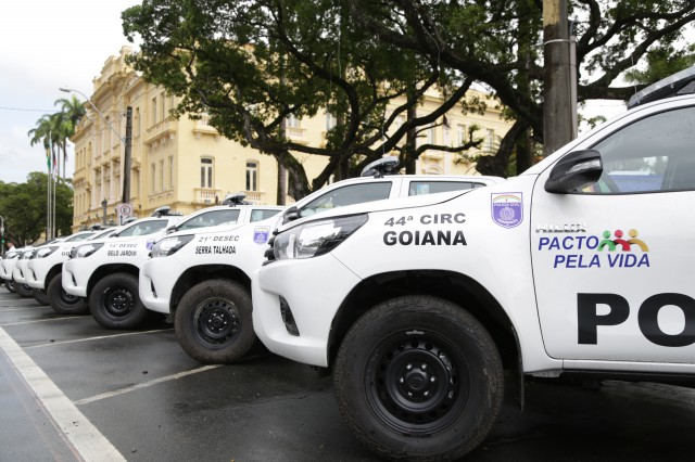 83 novas viaturas de polícia reforçarão a segurança em Pernambuco