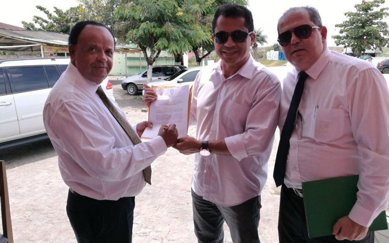 Prefeito de Nazaré assina ofício pedindo redução na taxa de iluminação pública