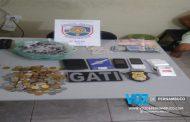Polícia apreende drogas e detém rapaz em Lagoa de Itaenga