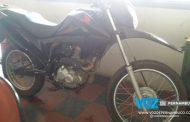 Polícia Civil de Macaparana recupera moto roubada em Feira Nova