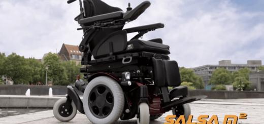 Quickie Salsa - elektrický invalidný vozík