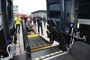 Opel Handycars plošina pre invalidný vozík