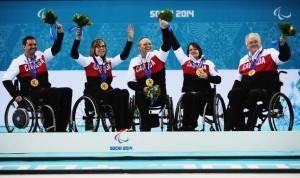 tým Canada curling na invalidnom vozíku