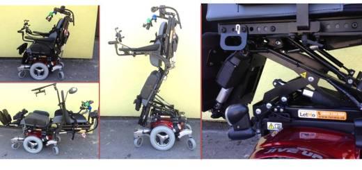 vertikalizačný elektrický vozík