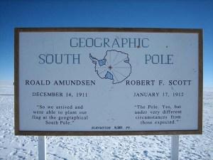 nový rok - južný pól