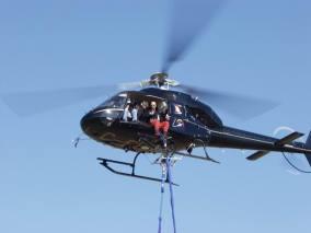 bungee jumping - vrtulník