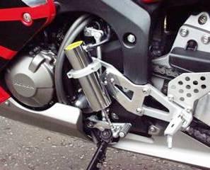motocykel - rýchlostná páka