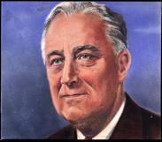 Roosevelt - maľba