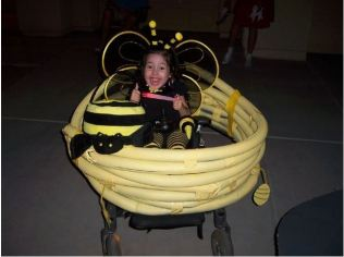 deň detí - včielka maja