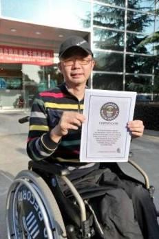 xie junwu - certifikát