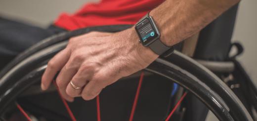 Apple Watch pre vozickarov