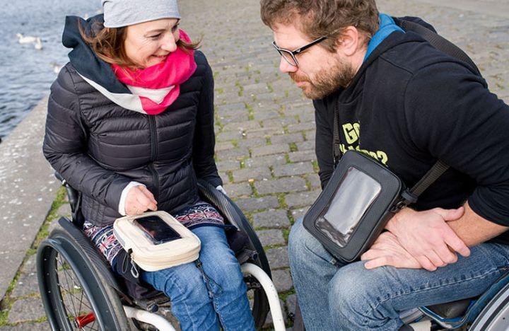 Raeda taška pre vozičkárov
