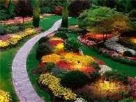 Butchart Gardens Path