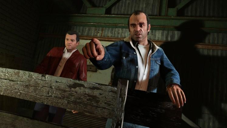 GTA V PC characters