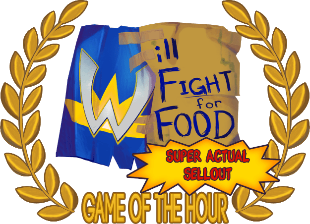 will fight for food logo