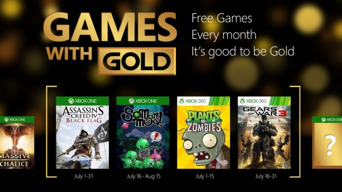 Games with Gold - July