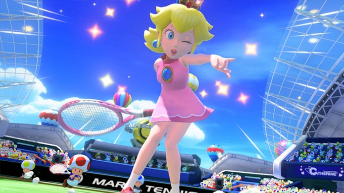Mario Tennis: Ultra Smash - Peach