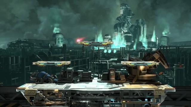 Cloud Stage - Super Smash Bros.