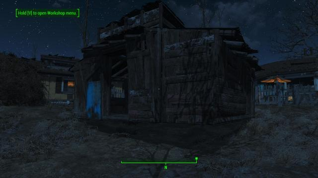 Fallout 4 floating house