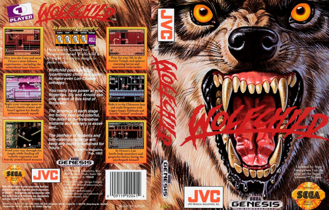Wolfchild Cover
