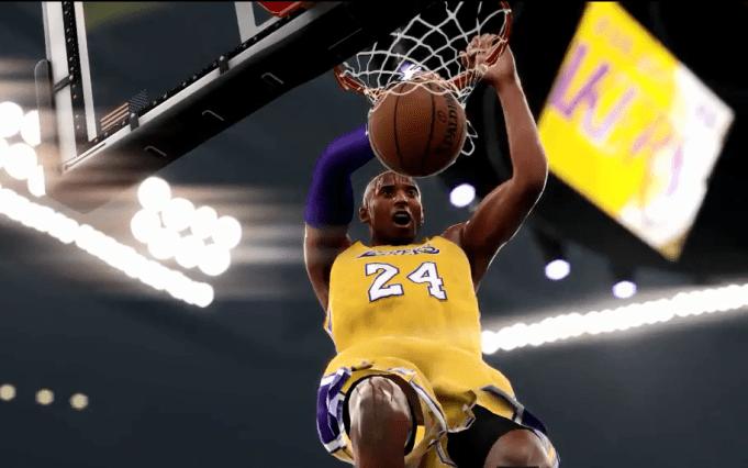 NBA 2K17 Kobe Slam