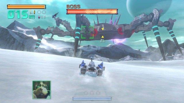 Star Fox Zero - Landmaster