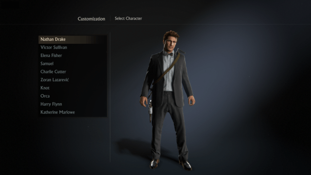There are a ton of customization options in Uncharted 4's multiplayer