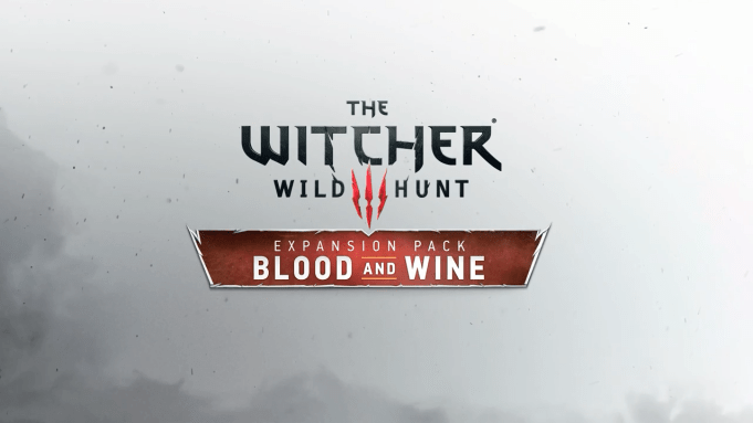 The Witcher 3 - Blood and Wine Logo