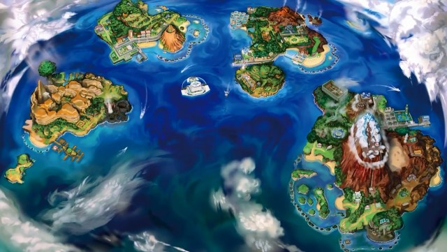Pokémon Sun and Pokémon Moon - Alola Region