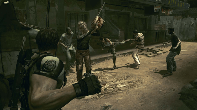 RE5 Chainsaw