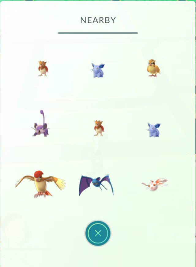 Pokémon GO - New Tracking Page