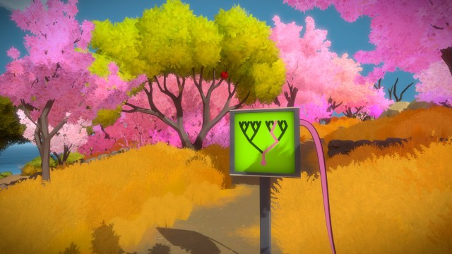 The Witness - Cherry Blossom Puzzle