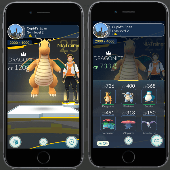 Pokémon Go - Gym Training Changes