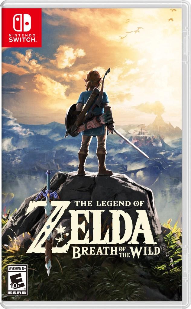 The Legend of Zelda: Breath of the Wild - Box Art
